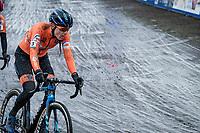 Lucinda Brand (NED/Baloise-Trek Lions)<br /> <br /> UCI 2021 Cyclocross World Championships - Ostend, Belgium<br /> <br /> Women's Race<br /> <br /> ©kramon