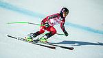 Alana Ramsay, PyeongChang 2018 - Para Alpine Skiing // Ski para-alpin.<br /> Alana Ramsay skis in the super combined // Alana Ramsay skis dans le super combiné. 13/03/2018.