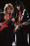 Tod Howarth & Ace Frehley of Frehley's Comet 1988