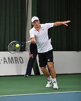 18-01-14,Netherlands, Rotterdam,  TC Victoria, Wildcard Tournament, ,   Alban Meuffels (NED)   <br /> Photo: Henk Koster