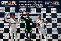 Porsche GT3 Cup Challenge Canada<br /> Grand Prix Trois-Rivieres<br /> Trois-Rivieres, QC CAN<br /> Sunday 13 August 2017<br /> Porsche GT3 Cup Challenge Canada, Race 2, Platinum Masters Podium<br /> World Copyright: Jake Galstad<br /> LAT Images