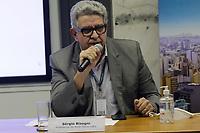 Campinas (SP), 10/03/2021 - Dario Saadi - Sergio Bisogni, prefeito da Rede Mario Gatti. O prefeito de Campinas (SP), Dario Saadi (Republicanos), realizou nesta quarta-feira (10), um anuncio com ações emergenciais que serão tomadas para o combate a covid-19 na cidade.