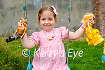 4 year old Allanah Foley at her home in Killorglin.