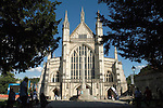 Winchester Cathedral Hampshire. 2012 2010s UK