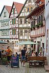 Germany, Thuringia, Schmalkalden: historic old town with half-timbered-houses | Deutschland, Thueringen, Fachwerk- und Hochschulstadt Schmalkalden: historische Altstadt mit Fachwerkhaeusern