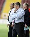 16/08/2008  Copyright Pic: James Stewart.File Name : sct_jspa18_motherwell_v_aberdeen.MOTHERWELL MANAGER MARK MCGHEE WATCHES HIS TEAM AGAINST ABERDEEN.James Stewart Photo Agency 19 Carronlea Drive, Falkirk. FK2 8DN      Vat Reg No. 607 6932 25.Studio      : +44 (0)1324 611191 .Mobile      : +44 (0)7721 416997.E-mail  :  jim@jspa.co.uk.If you require further information then contact Jim Stewart on any of the numbers above........