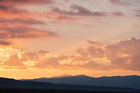 Sunrise over the Sangre de Cristo range