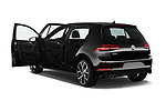 Car images close up view of 2017 Volkswagen Golf GTD 5 Door Hatchback doors