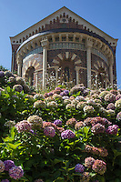 France, Aquitaine, Pyrénées-Atlantiques, Pays Basque, Biarritz: La chapelle impériale //  France, Pyrenees Atlantiques, Basque Country, Biarritz: The Chapelle Imperiale built for Empress Eugenie,