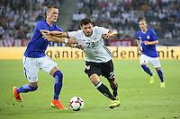 Kevin Volland (Deutschland Germany) gegen Thomas Lam (Finnland) - Deutschland vs. Finnland, Borussia Park, Mönchengladbach