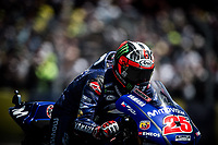 MAVERICK VINALES - SPANISH - MOVISTAR YAMAHA MotoGP - YAMAHA<br /> Le Mans 19-05-2018 Moto Gp Francia<br /> Foto Vincent Guignet / Panoramic / Insidefoto