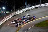 2017 NASCAR Monster Energy Cup - Can-Am Duels<br /> Daytona International Speedway, Daytona Beach, FL USA<br /> Thursday 23 February 2017<br /> Denny Hamlin, FedEx Express Toyota Camry, Dale Earnhardt Jr and Clint Bowyer<br /> World Copyright: Russell LaBounty/LAT Images<br /> ref: Digital Image 17DAY2rl_02995