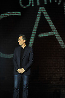 French stand up comic and part time actor Gad Elmaleh present his first bilingual show, September 19, 2015 at the Petit Olympia in Montreal, Canada.<br /> <br /> Photo : Agence Quebec Presse