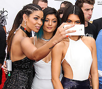 LAS VEGAS, NV, USA - MAY 18: Jordin Sparks, Kylie Jenner, Kendall Jenner at the Billboard Music Awards 2014 held at the MGM Grand Garden Arena on May 18, 2014 in Las Vegas, Nevada, United States. (Photo by Xavier Collin/Celebrity Monitor)