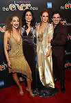 Micaela Diamond, Stephanie J. Block, Teal Wicks, and Jarrod Spector Attends the After Party for the Broadway Opening Night  of 'The Cher Show' at Pier 60 on December 3, 2018 in New York City.