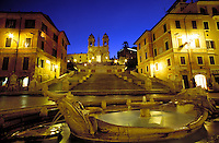 Italy, Rome , The Spanish Steps