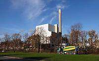 Nederland  Amsterdam-  2020. Hemweg centrale. Voormalige kolencentrale. Hemweg 8. De kolencentrale is gesloten.  Foto : ANP/ HH / Berlinda van Dam