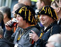 Photo: Richard Lane/Richard Lane Photography. Wasps v Worcester Warriors. Gallagher Premiership. 06/04/2019. Wasps supporters.