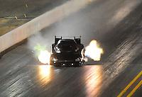 Jul. 16, 2010; Sonoma, CA, USA; NHRA funny car driver Gary Densham during qualifying for the Fram Autolite Nationals at Infineon Raceway. Mandatory Credit: Mark J. Rebilas-
