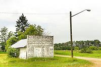 Ghost town Insinger, Saskatchewan, Canada