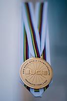 The UCI 2018 Road World Championships Gold medal<br /> <br /> Innsbruck - Tirol / Austria