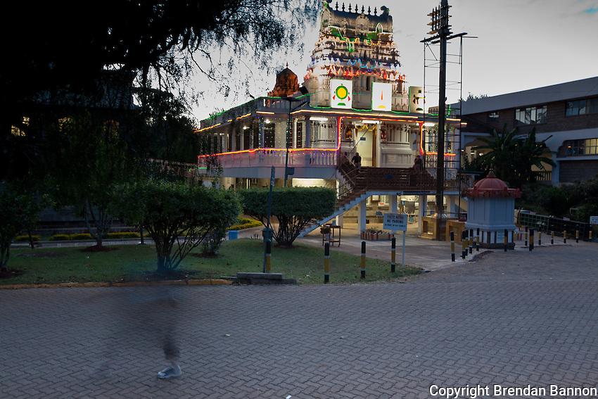 Shree Sanatan Dharam Hindu Temple in Nairobi, Kenya
