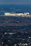 A view of The Riverside stadium Middlesbrough, from Ormesby Bank.  16th January 2021, Middlesbrough 0 Birmingham 1.
