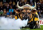 The Bull during the Mitre 10 Cup Ranfurly Shield Rugby Match between Taranaki and Manawatu at Yarrow Stadium, New Plymouth, Auckland,  New Zealand. Wednesday 11th October 2017. Photo: Simon Watts / www.bwmedia.co.nz