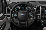 Car pictures of steering wheel view of a 2017 Ford F-250 XLT-Crew 4 Door Pick-up Steering Wheel