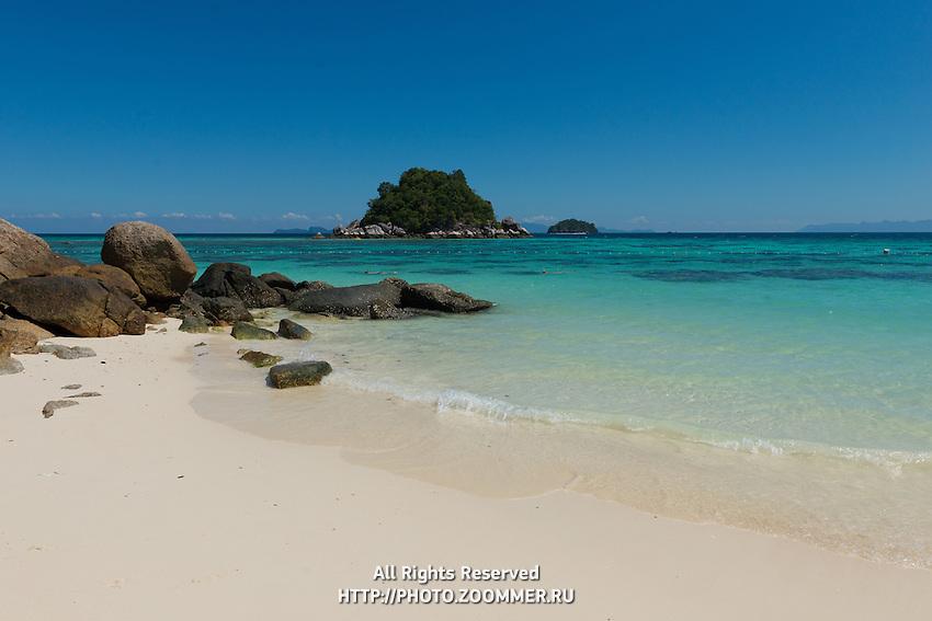Stunning Sand And Crystal Water Of Ko Lipe Island, Thailand
