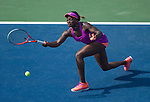 Sloane Stephens (USA) defeats Jamie Hampton (USA) 6-1, 6-3 at the US Open being played at USTA Billie Jean King National Tennis Center in Flushing, NY on August 30, 2013