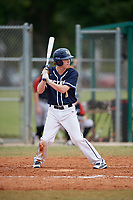 Bethel Wildcats third baseman Joey Fredrickson (11) during the first game of a double header against the Edgewood Eagles on March 15, 2019 at Terry Park in Fort Myers, Florida.  Bethel defeated Edgewood 6-0.  (Mike Janes/Four Seam Images)
