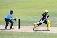 Ian Holland in batting action for Hampshire during Hampshire Hawks vs Essex Eagles, Royal London One-Day Cup Cricket at The Ageas Bowl on 22nd July 2021