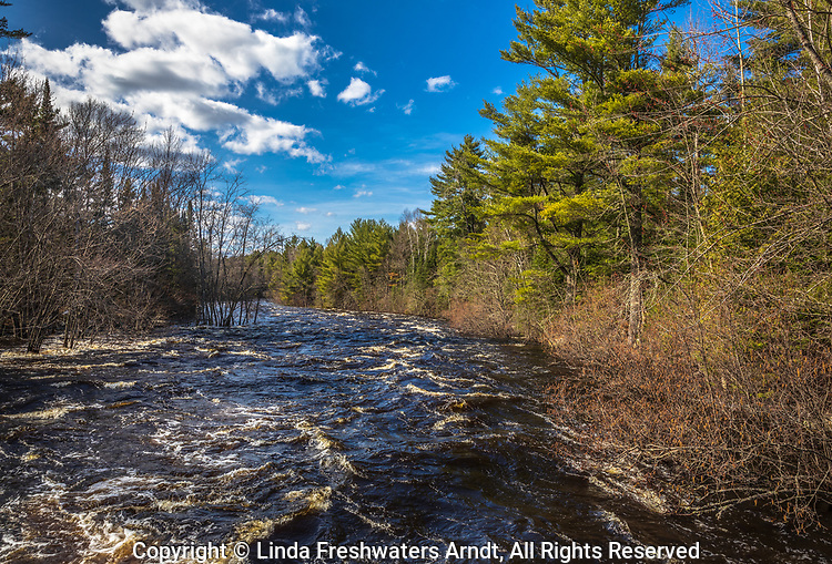 East fork of the Chippewa River in northern Wisconsin.