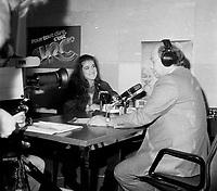 Celine Dion a des debuts en 1981-82<br /> -- entrevue TV<br /> <br /> PHOTO :  Agence Quebec Presse