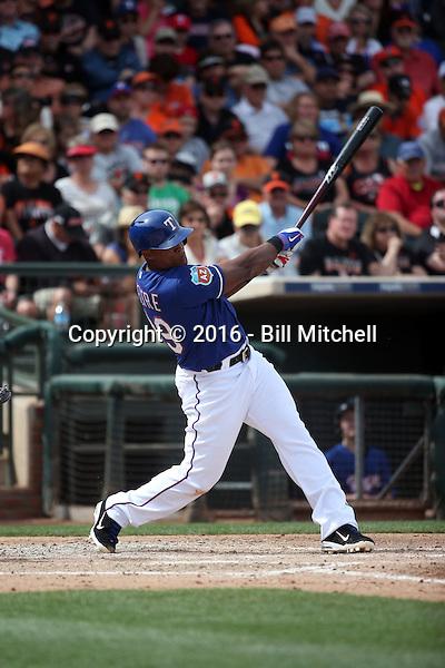 Adrian Beltre - Texas Rangers 2016 spring training (Bill Mitchell)