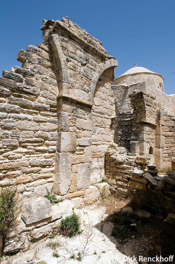 Zypern (Süd), Kloster Timios Stavros bei Anogyra aus dem 14. Jh