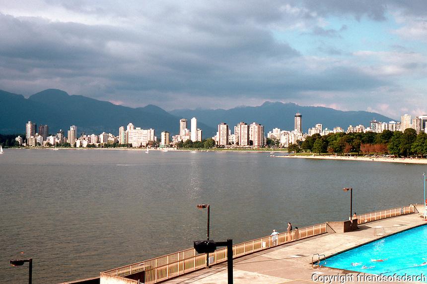 Vancouver: Kitsilano Pool. Photo '86.