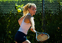 The Hague, Netherlands, 11 June, 2017, Tennis, Play-Offs Competition, Elke Tiel (NED)<br /> Photo: Henk Koster/tennisimages.com