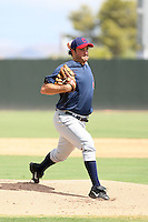 TJ McFarland - Cleveland Indians - 2010 Instructional League.Photo by:  Bill Mitchell/Four Seam Images..