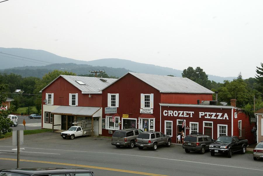 Crozet Pizza in Albemarle County, VA. Photo/Andrew Shurtleff