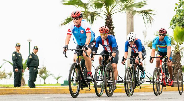 Michael Shetler - Lima 2019. Para Cycling // Paracyclisme.<br /> Michael Shetler competes in the road race // Michael Shetler participe à la course sur route. 01/09/2019.