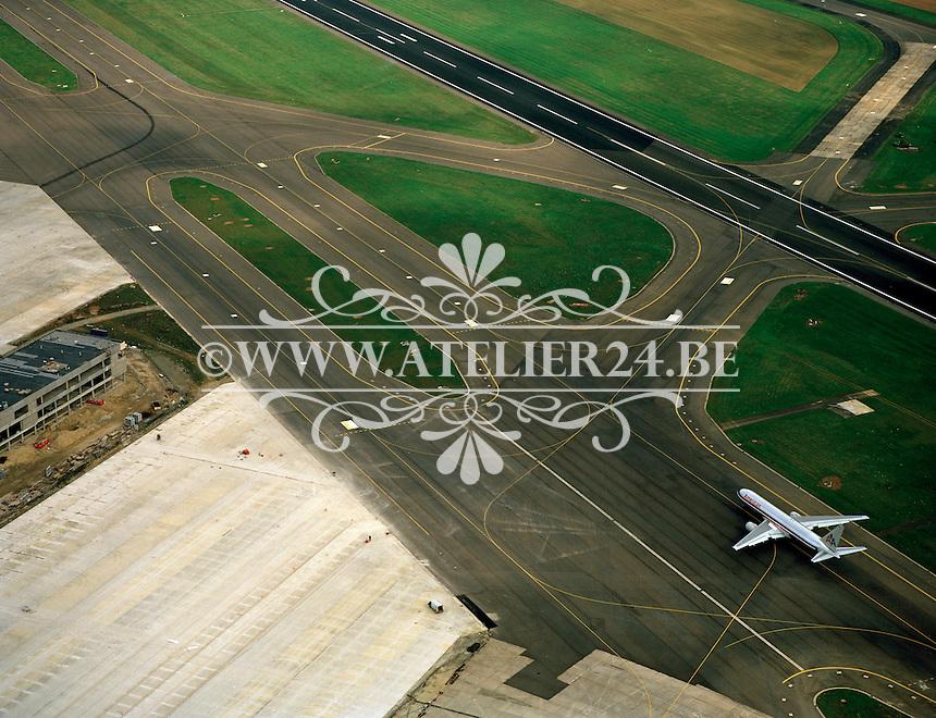 Oktober 1993. Luchthaven van Zaventem.