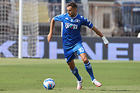 Nedim Bajrami of Empoli FC in action during the Serie A football match between Empoli FC  and Venezia FC at Carlo Castellani stadium in Empoli (Italy), September 11th, 2021. Photo Paolo Nucci / Insidefoto