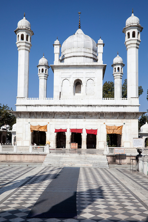 India, Dehradun.  A Sikh Temple built in 1707--the Durbar Shri Guru Ram Rai Ji Maharaj.