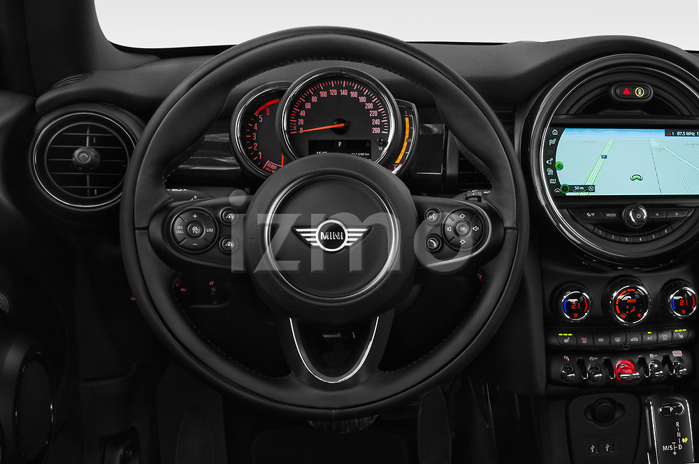 Car pictures of steering wheel view of a 2018 Mini Mini Chilli 2 Door Convertible