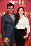 """Bradley Dean and Lena Hall during Jim Steinman's """"Bat Out of Hell - The Musical"""" - Open Rehearsal at New York City Center on July 30, 2019 in New York City."""