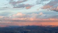Sunset from near the summit of Castle Peak