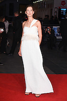 """Rosamund Pike<br /> at the London Film Festival premiere for """"A United Kingdom"""" at the Odeon Leicester Square, London.<br /> <br /> <br /> ©Ash Knotek  D3160  05/10/2016"""