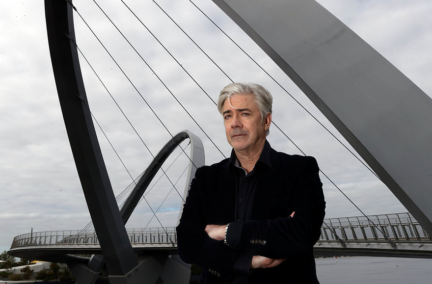 Comedian Shaun Micallef is in Perth to promote his show Talkin about my generation. photo by Trevor Collens